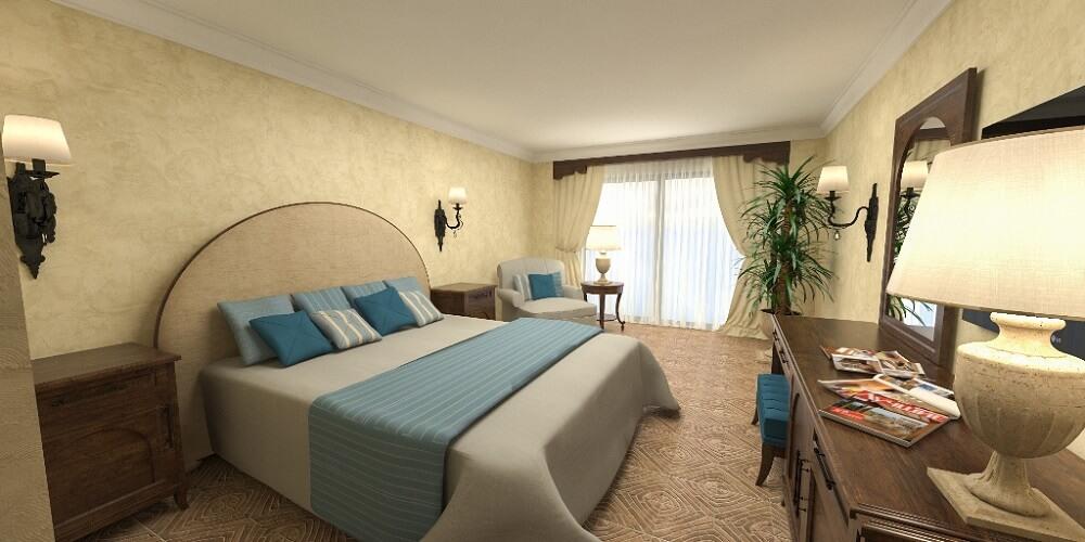 Дизайн интерьера отеля Пафос