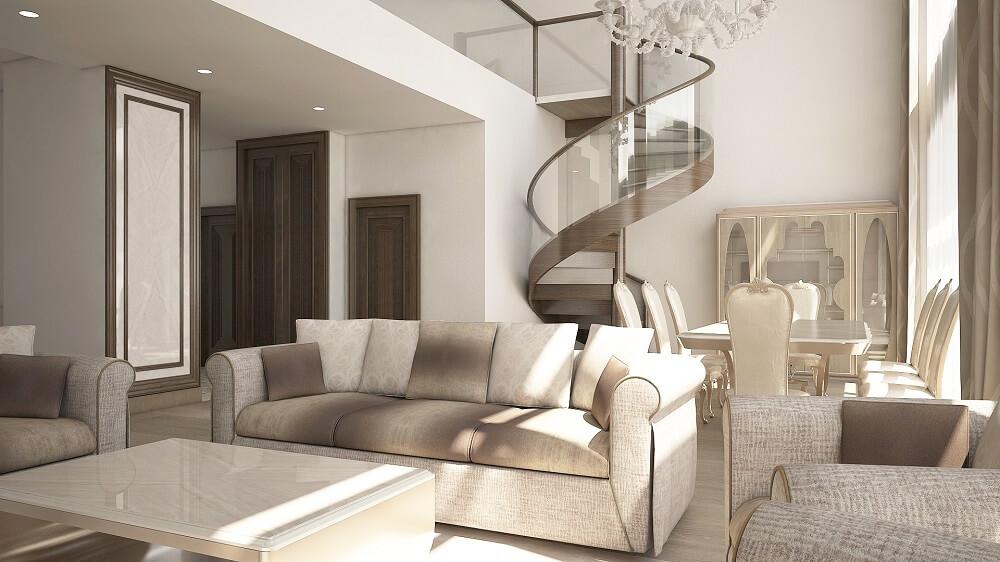 Design of luxury apartments