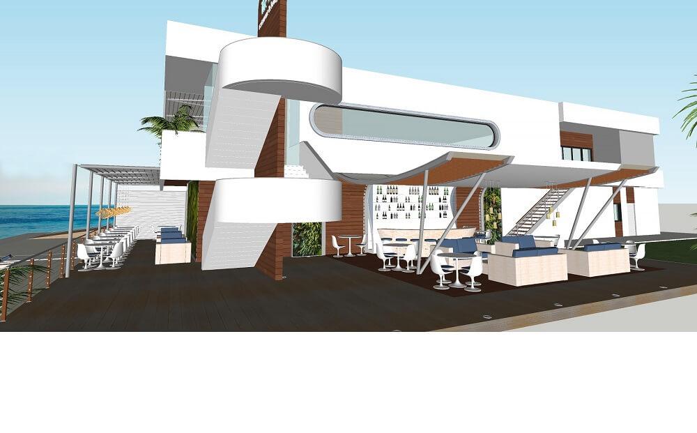 3d design restaurant