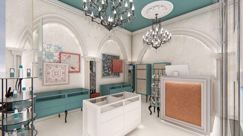 Shop interior design Limassol