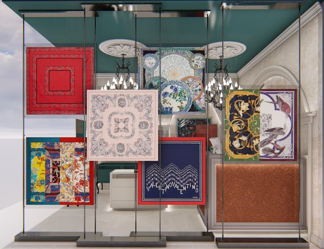 Shop interior design Cyprus
