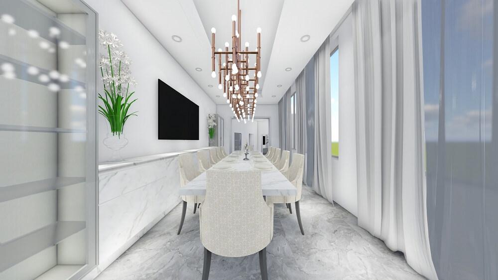 Interior villa design