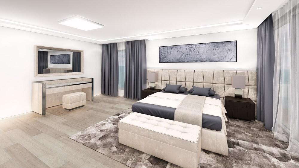 Interior design of a 2 room apartment