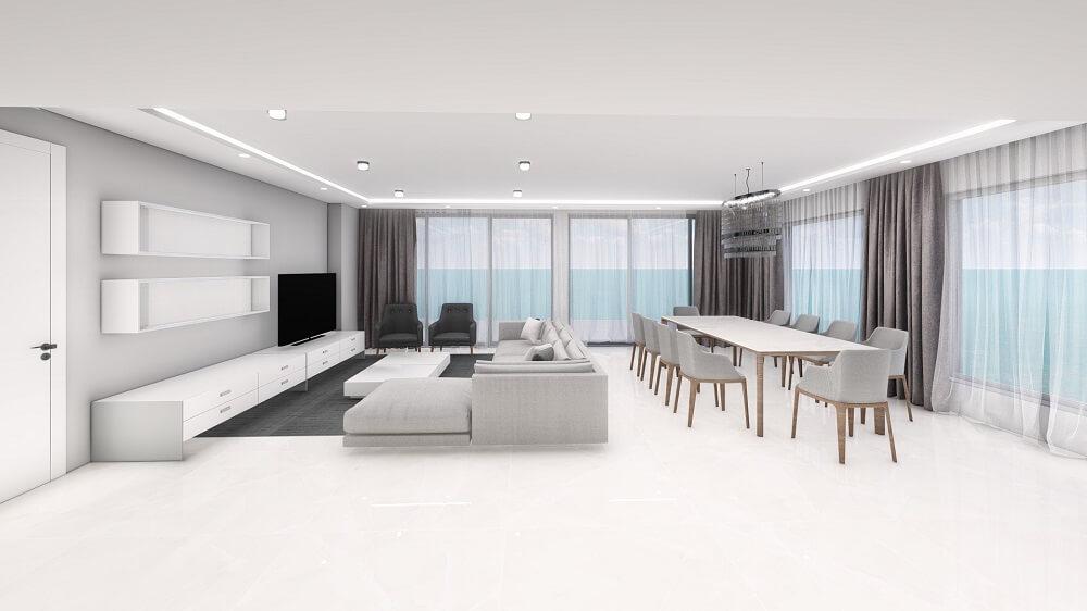 2 room apartment design