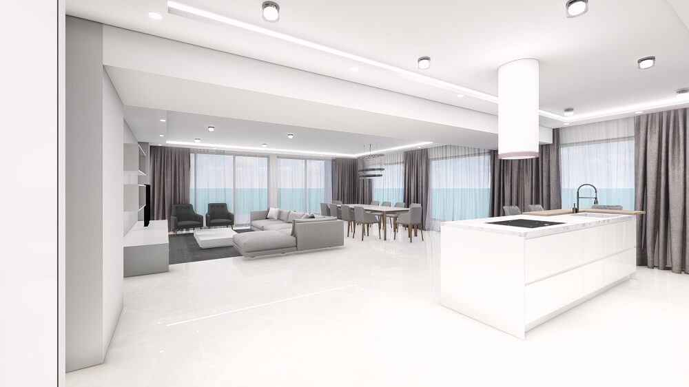 Order apartment 3d design