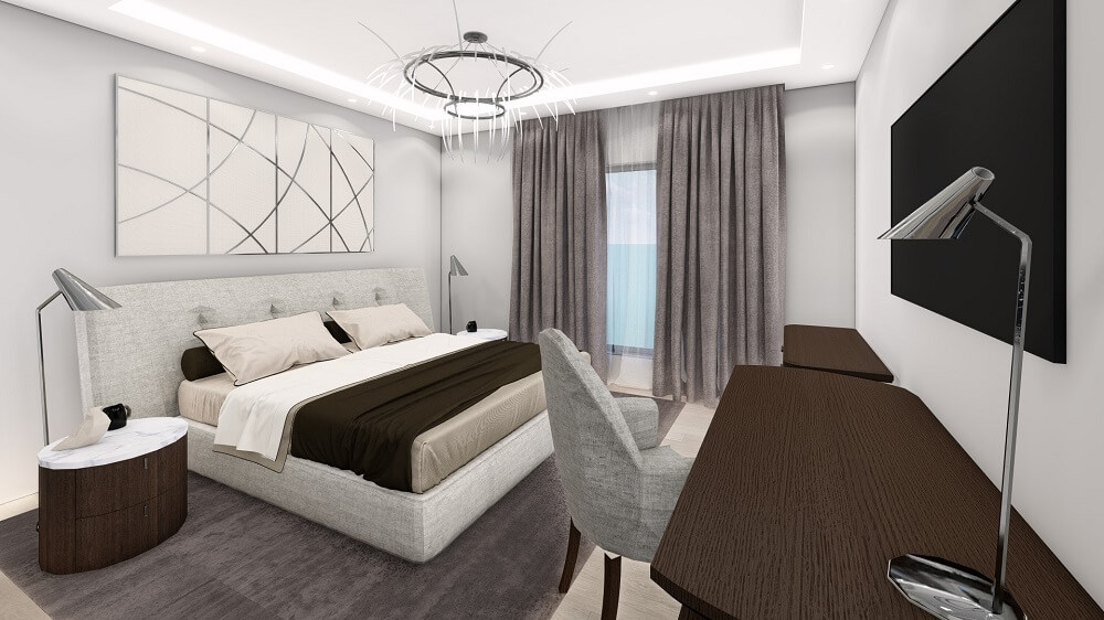 Design project of a two-bedroom apartment