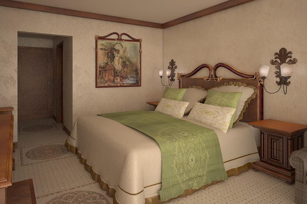 Дизайн интерьера отеля на Кипре