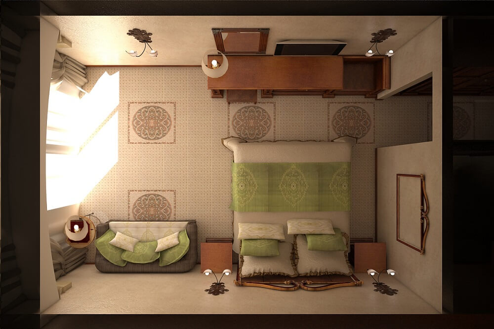 Interior design for a hotel