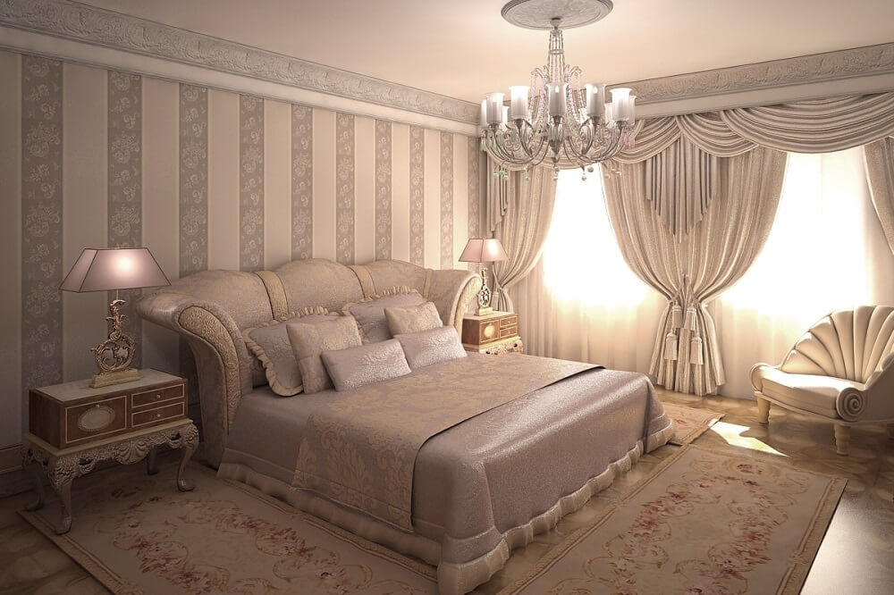 Bedroom with luxury design