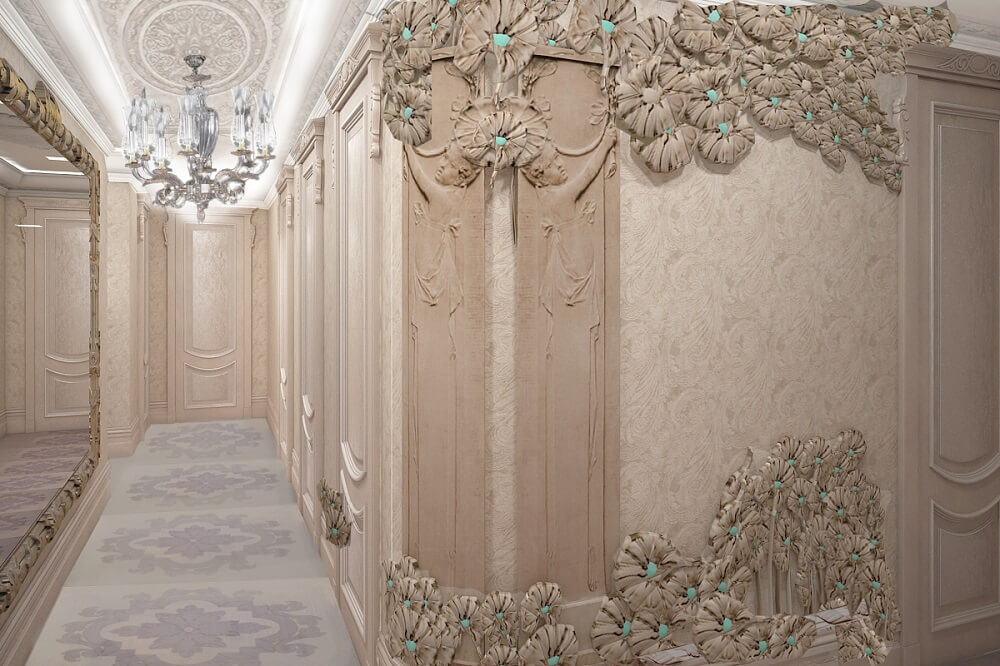3d design of corridor