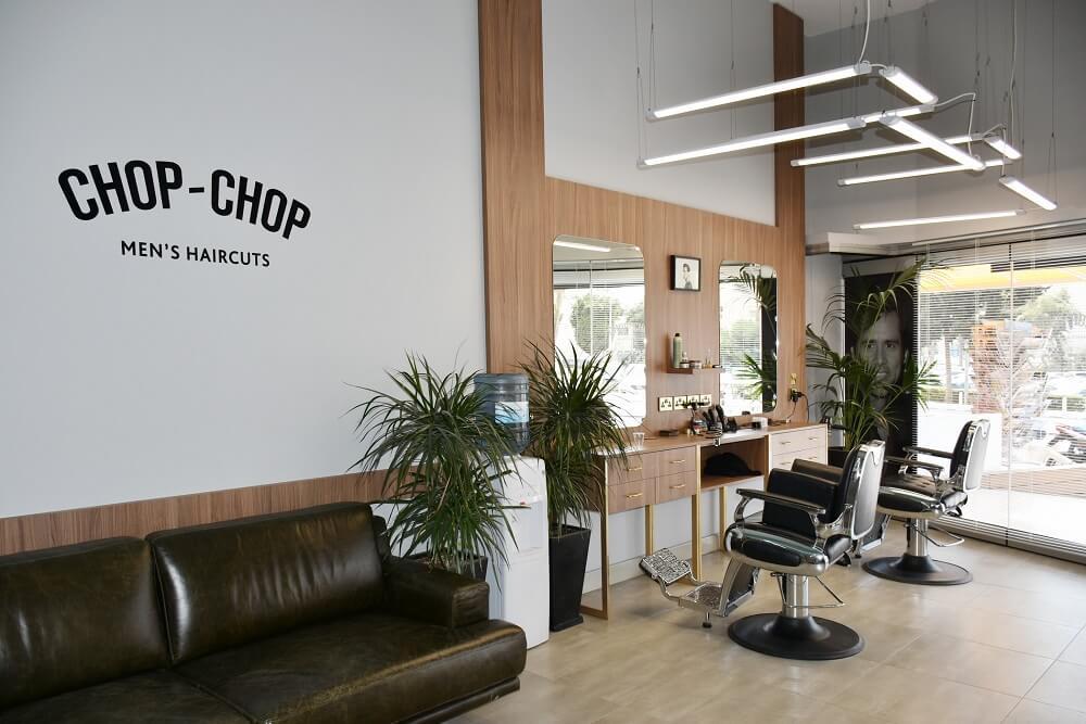 Дизайн интерьера салона на Кипре