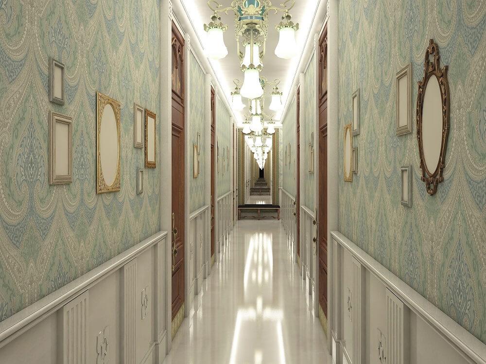 3d design of corridors