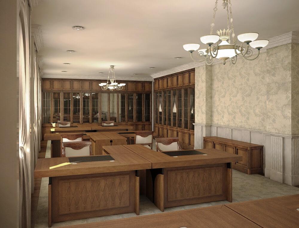 Office design in 3D