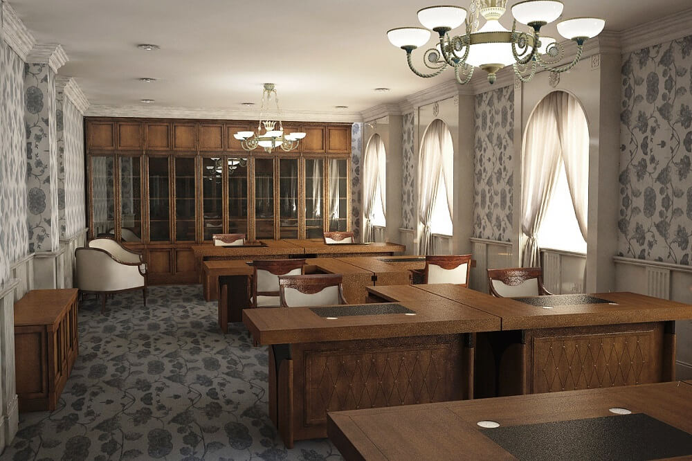 The design for office in Cyprus