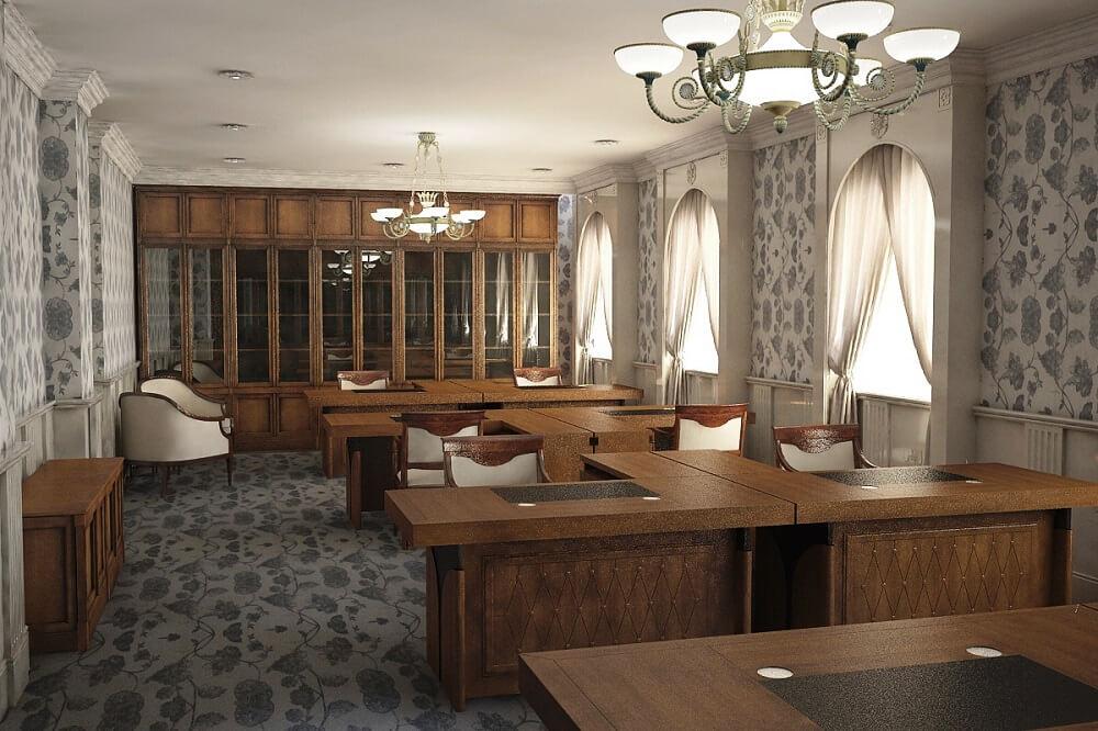 Дизайн офиса на Кипре