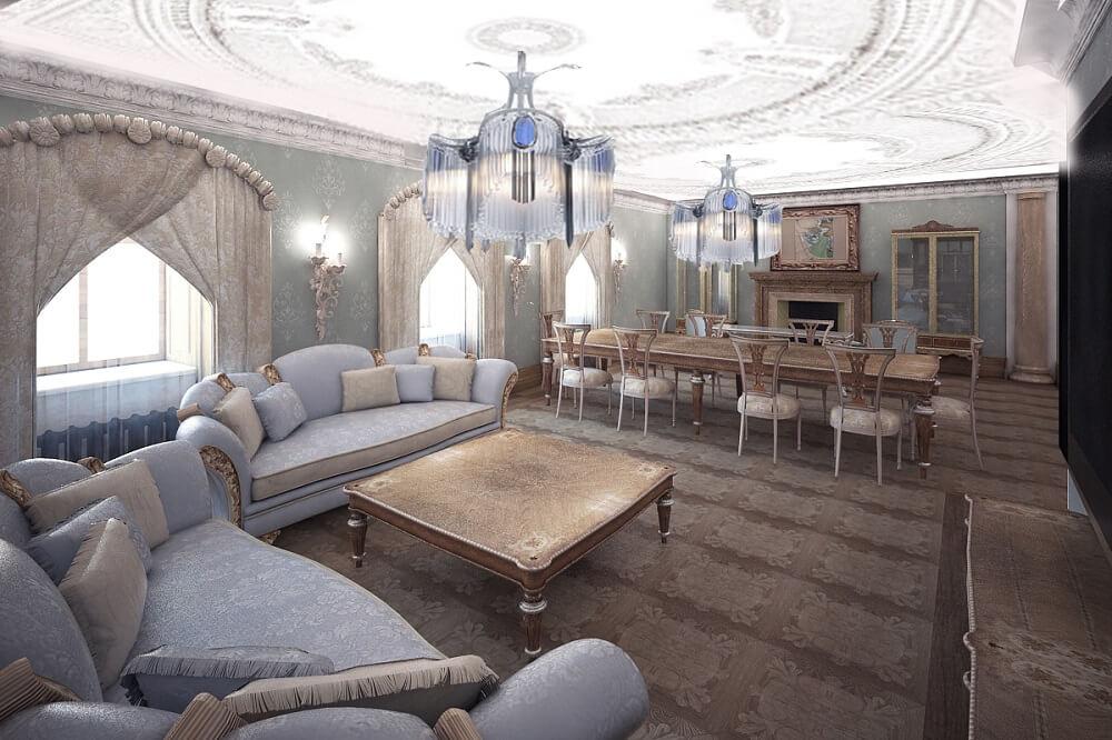 Элитный дизайн апартаментов