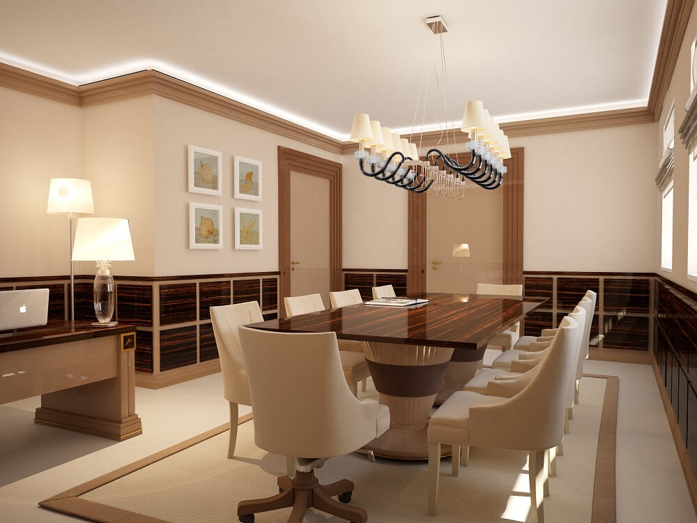 Luxury design of conference room