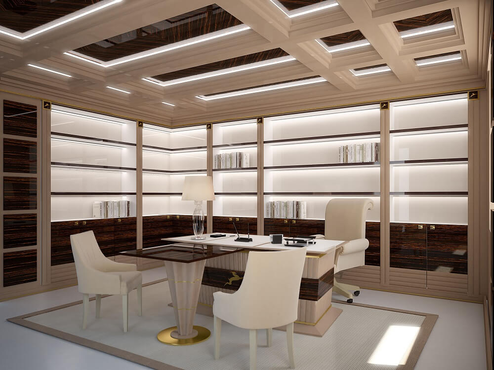 Bright luxury office