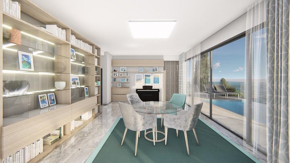 Design interior design of a private house Cyprus