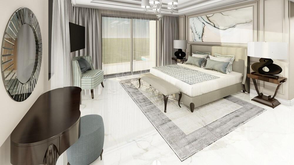 3d apartment interior design