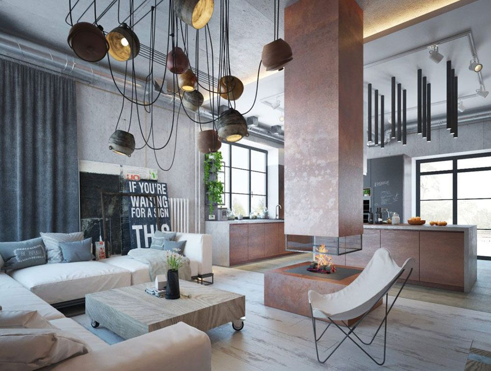 Modern Industrial Interior Design- Definition & Home Decor